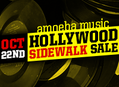 Sidewalk Sale at Amoeba Hollywood, Saturday, October 22