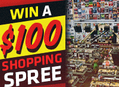 Win a $100 Shopping Spree at Amoeba!