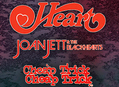 See Heart with Joan Jett & The Blackhearts and Cheap Trick!