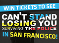 Win SF Tickets to See 'Can't Stand Losing You' and Andy Summers' Signed Memoir & Signed Poster