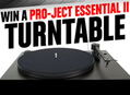 Win A Pro-Ject Essential II Turntable & Tons of Great Vinyl