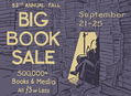 Fall Big Book Sale in San Francisco Sept 21-25