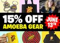 Amoeba Gear Sale at Our Stores Monday, June 13