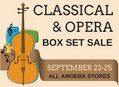 Classical / Opera CD Box Set Sale at Our Stores September 23-25