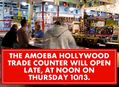 Amoeba Hollywood Trade Counter Opens Late on October 13