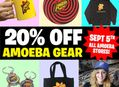 Amoeba Gear Sale at Our Stores Monday, September 5th