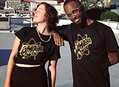 New Limited Edition Gold Logo Tee at Amoeba Hollywood & Amoeba.com