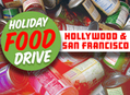 Food Drives Amoeba San Francisco and Amoeba Hollywood