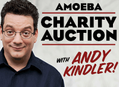Andy Kindler Hosts a Charity Auction at Amoeba Hollywood Saturday, February 6
