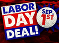 Labor Day Deal at Our Stores