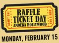 Raffle Ticket Day at Amoeba Hollywood Monday, February 15