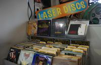 Lasers -- cheap, high-quality movies for your home laserium!