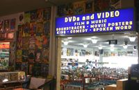 It's our fabulous movie room!  DVDs, VHS, soundtracks and more.  Got popcorn?