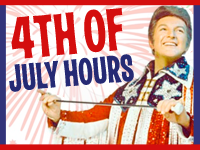 Special 4th of July Holiday Hours at Our Stores