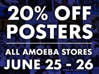 Huge Poster Sale at Our Stores June 25-26