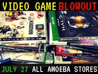 Video Game Blowout at Our Stores Wednesday, July 27