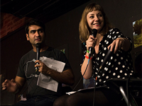 Charity Auction with Kumail Nanjiani & Emily V Gordon at Amoeba Hollywood August 8