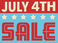 Special 4th of July Sales at Our Stores