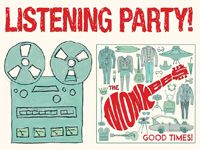 The Monkees Listening Parties at Our Stores Friday, May 27