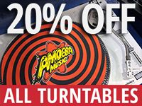 Turntable Sale at Our Stores February 11-14