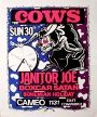 The Cows - The Cameo - May 30, 1993 (Poster) Merch