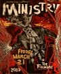 Ministry - The Fillmore - March 21, 2003 (Poster) Merch