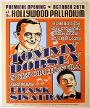 Frank Sinatara / Tommy Dorsey - Hollywood Palladium - October 29, 1940 (Poster) Merch