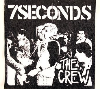 7 Seconds - The Crew Cover (Patch)