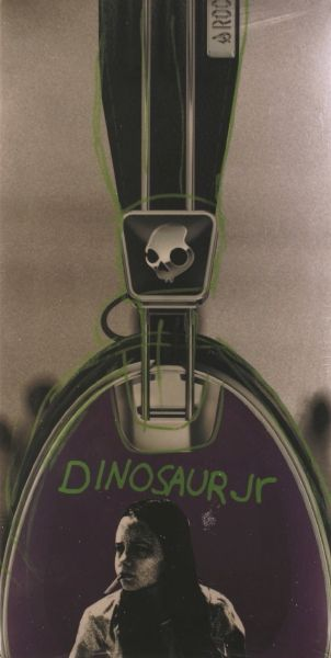 Dinosaur Jr. Skullcandy Aviator Headphones [Limited Edition]