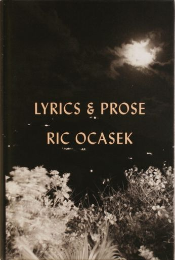 Ric Ocasek - Lyrics & Prose (Book)