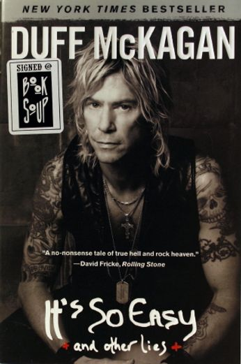Duff McKagan - It's So Easy And Other Lies [Signed] (Book)
