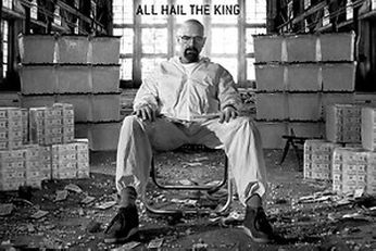 Breaking Bad - All Hail The King (Movie Poster)