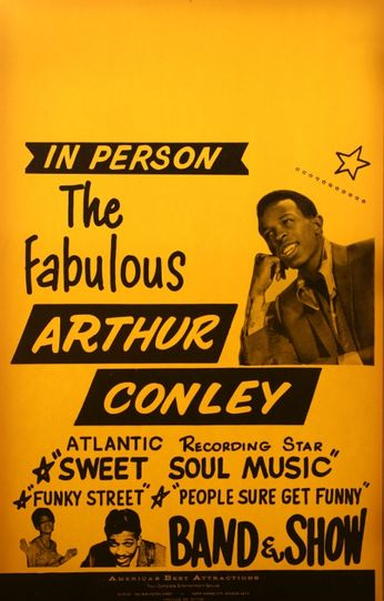 Arthur Conley - In Person (Poster)