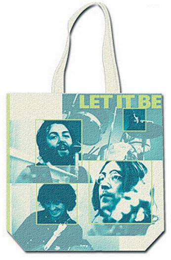 The Beatles - Let It Be [Color] (Tote Bag)