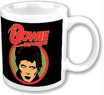 David Bowie - Flash Logo (Mug)
