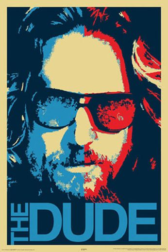 Big Lebowski - The Dude (Movie Poster)