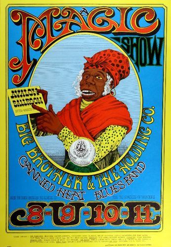 Big Brother & The Holding Company / Canned Heat - Avalon Ballroom - June 8-11, 1967 (Poster)