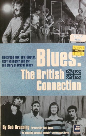 Bob Brunning - Blues: The British Connection (Book)
