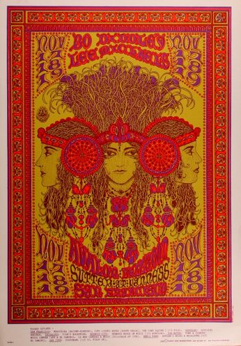 Bo Diddley - The Avalon Ballroom - November 17-19, 1967 (Poster)