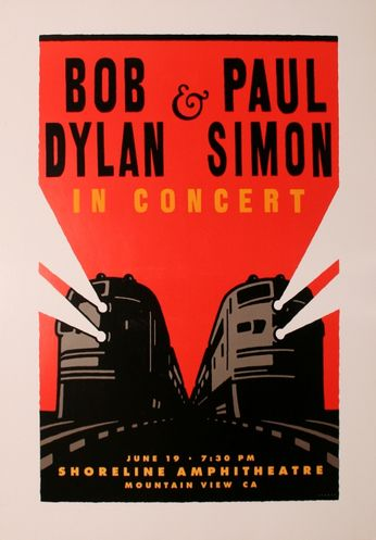 Bob Dylan Paul Simon Shoreline Amphitheatre June 19