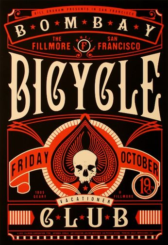 Bombay Bicycle Club - The Fillmore - October 19, 2012 (Poster)