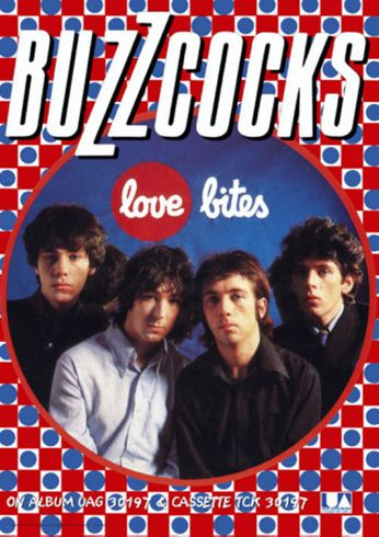 Buzzcocks - Love Bites (Poster)