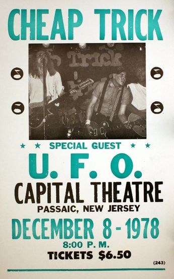 Cheap Trick - Capital Theatre - December 8, 1978 (Poster)