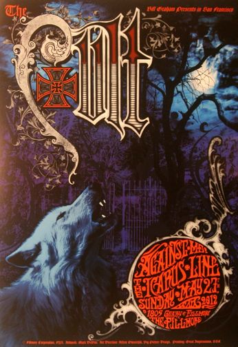 The Cult - The Fillmore - May 27, 2012 (Poster)