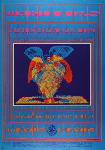The Doors - The Avalon Ballroom - May 12 - 13, 1967 (Poster)