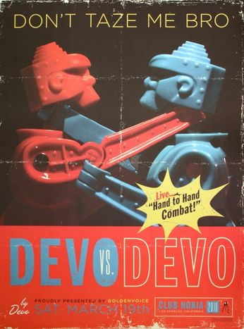 Devo - Club Nokia - March 19, 2010 (Poster)