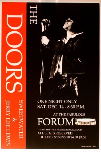 The Doors - The Forum - December 14, 1968 (Poster)