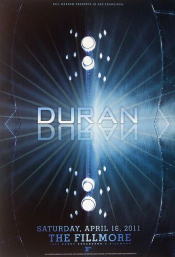 Duran Duran - The Fillmore - April 16, 2011 (Poster)