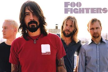 Foo Fighters - Red Shirt (Poster)