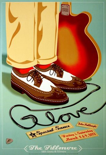 G. Love & Special Sauce - The Fillmore - March 8-9, 2013 (Poster)